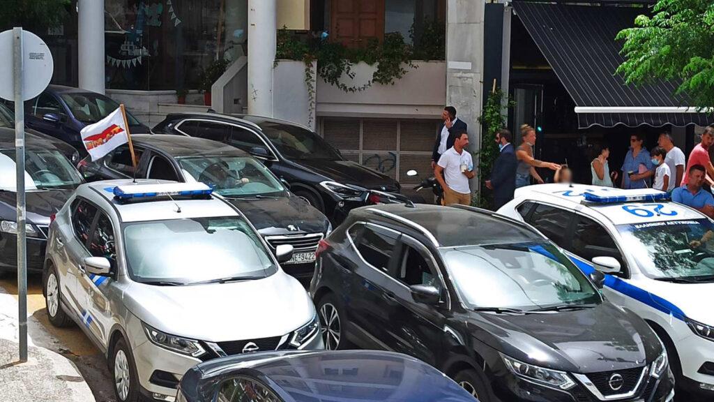 Το Εργατικό Κέντρο Θεσπρωτίας «υποδέχθηκε» το Υπουργό Ναυτιλίας, πριν ένα μήνα, την 1η Ιούλη με αυτοκινητοπορεία, στην Ηγουμενίτσα - Οι εργαζόμενοι αντιδρούν στην ιδιωτικοποίηση του λιμανιού