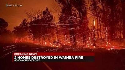 Ανεξέλεγκτες πυρκαγιές στη Χαβάη των ΗΠΑ - Αύγουστος 2021