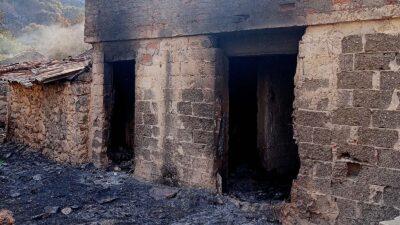 Πυρκαγιά στη Λακωνία - Κατέκαψε 110000 στρέμματα - Αύγουστος 2021