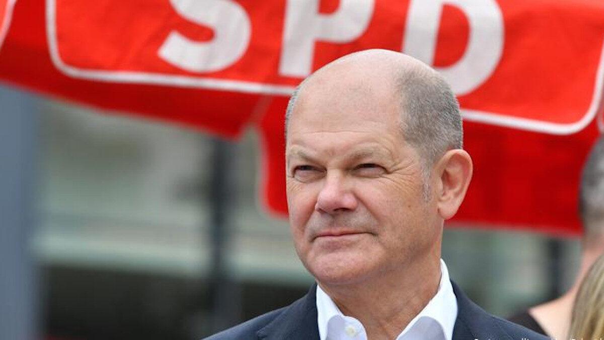 Αντικαγκελάριος της Γερμανίας και υποψήφιος του Σοσιαλδημοκρατικού Κόμματος (SPD) για την Καγκελαρία Όλαφ Σολτς