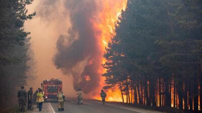 Δασικές πυρκαγιές στη Ρωσία - Αύγουστος 2021