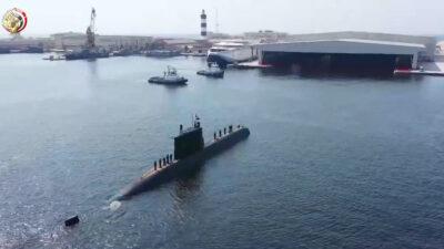 Το Πολεμικό Ναυτικό της Αιγύπτου παρέλαβε το τέταρτο γερμανικό υποβρύχιο, τύπου S-44