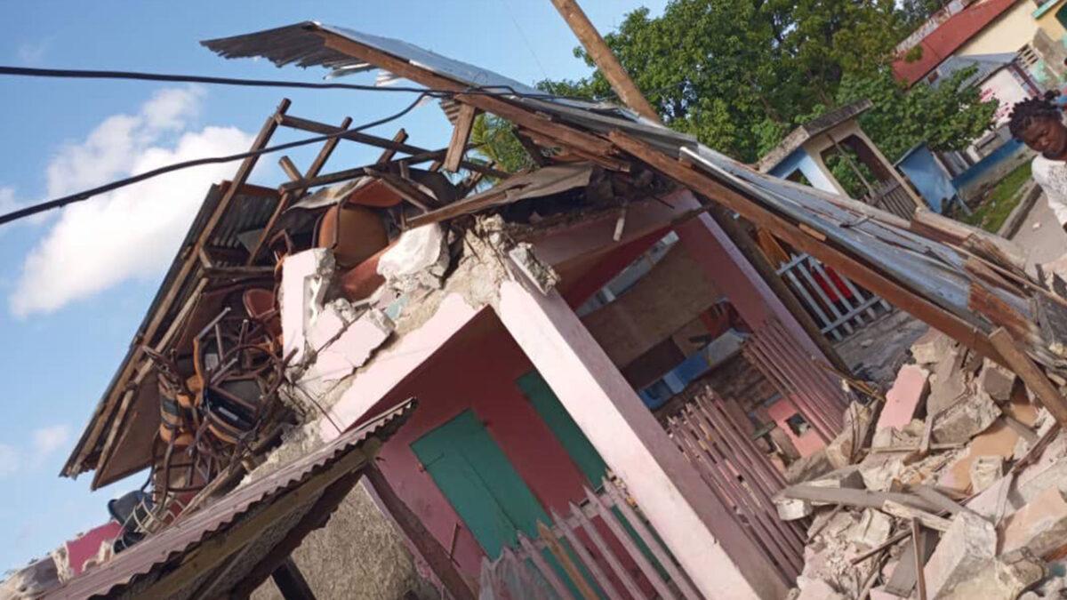 Σεισμός 7,2 Ρίχτερ στην Αϊτή 14/8/2021