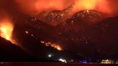 Πυρκαγιές στα Νότια παράλια της Τουρκίας Αύγουστος 2021