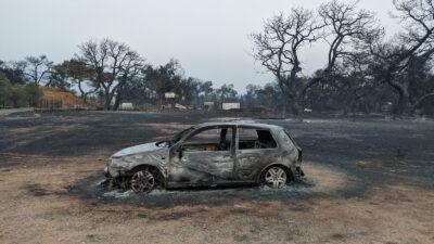 Πυρκαγιά στην Βαρυμπόμπη - Πυροσβεστική
