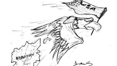 Σκίτσο φαντάρου από την Κω για το Αφγανιστάν