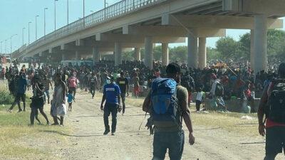 Μετανάστες από την Αϊτή στις ΗΠΑ