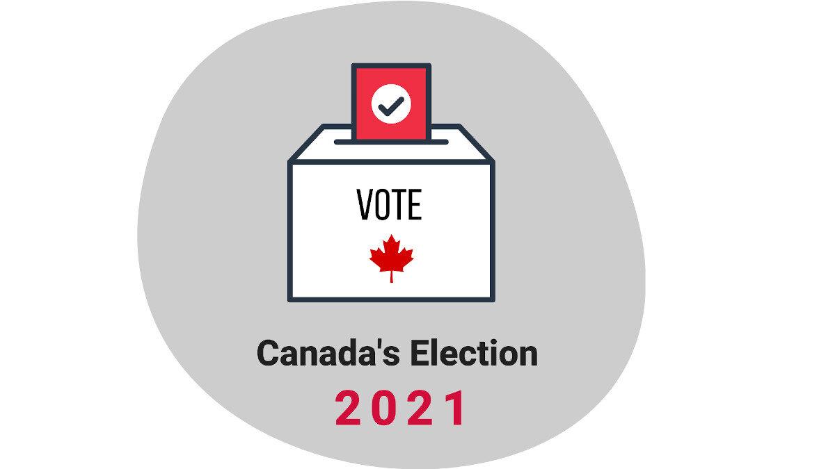 Γραφικό για τις Βουλευτικές Εκλογές στον Καναδά Σεπτέμβρης 2021