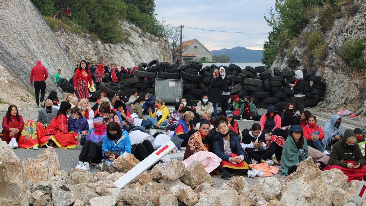 Διαδηλώσεις στο Μαυροβούνιο