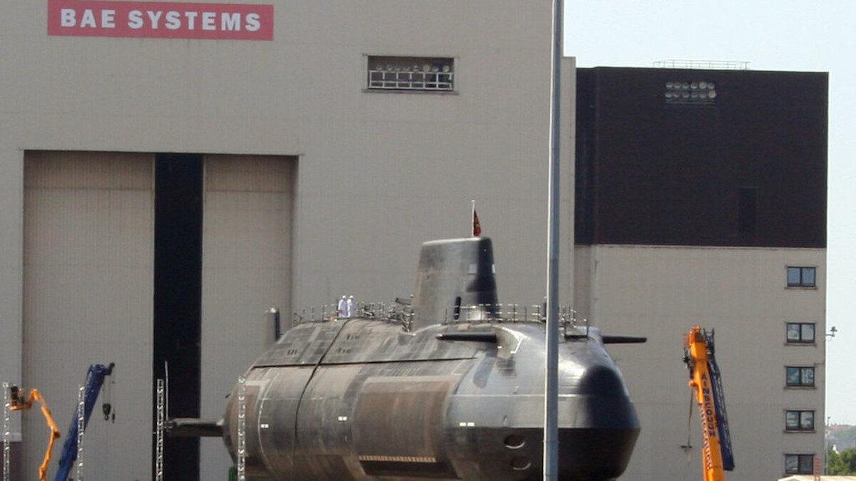 Πυρηνικό Υποβρύχιο της Βρετανίας HMS ASTUTE