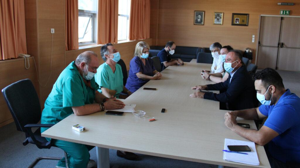 Περιοδεία του Βουλευτή Ν. Παπαναστάση στα νοσηλευτικά ιδρύματα του νομού Αιτωλοακαρνανίας