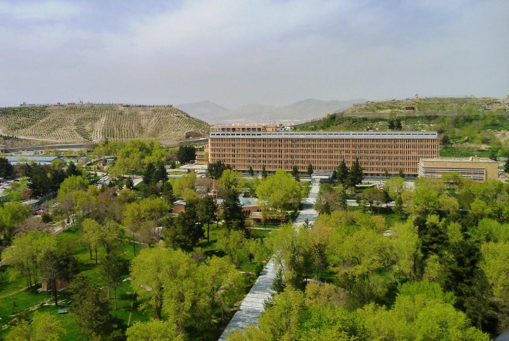 Κεντρικό Νοσοκομείο και Ιατρική Σχολή της Καμπούλ που χτίστηκε και λειτούργησε της δεκαετία του 80 - Λαϊκή Δημοκρατία του Αφγανιστάν