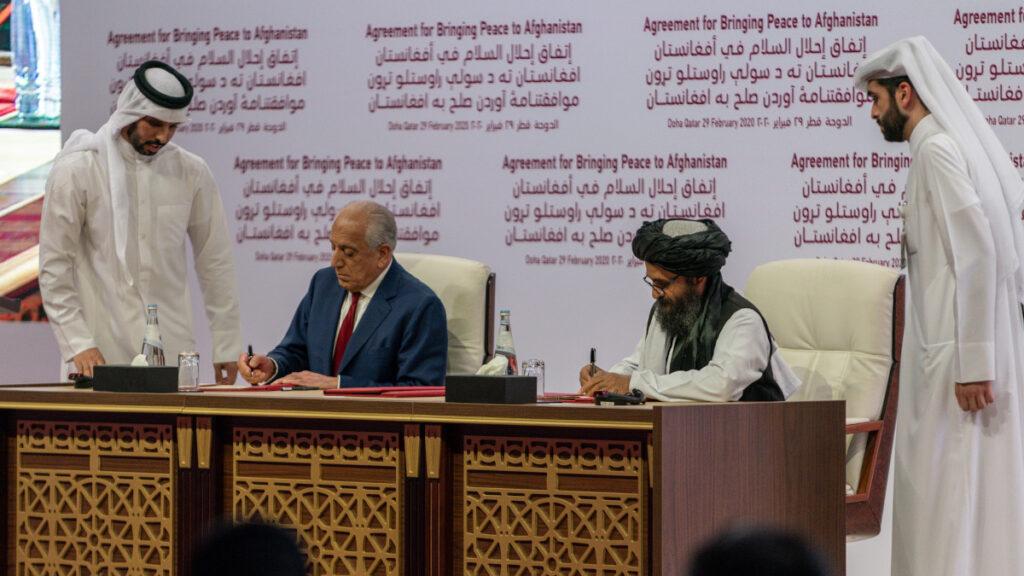 Συμφωνία μεταξύ Ταλιμπάν και ΗΠΑ στην Ντόχα το 2020 για το Αφγανιστάν