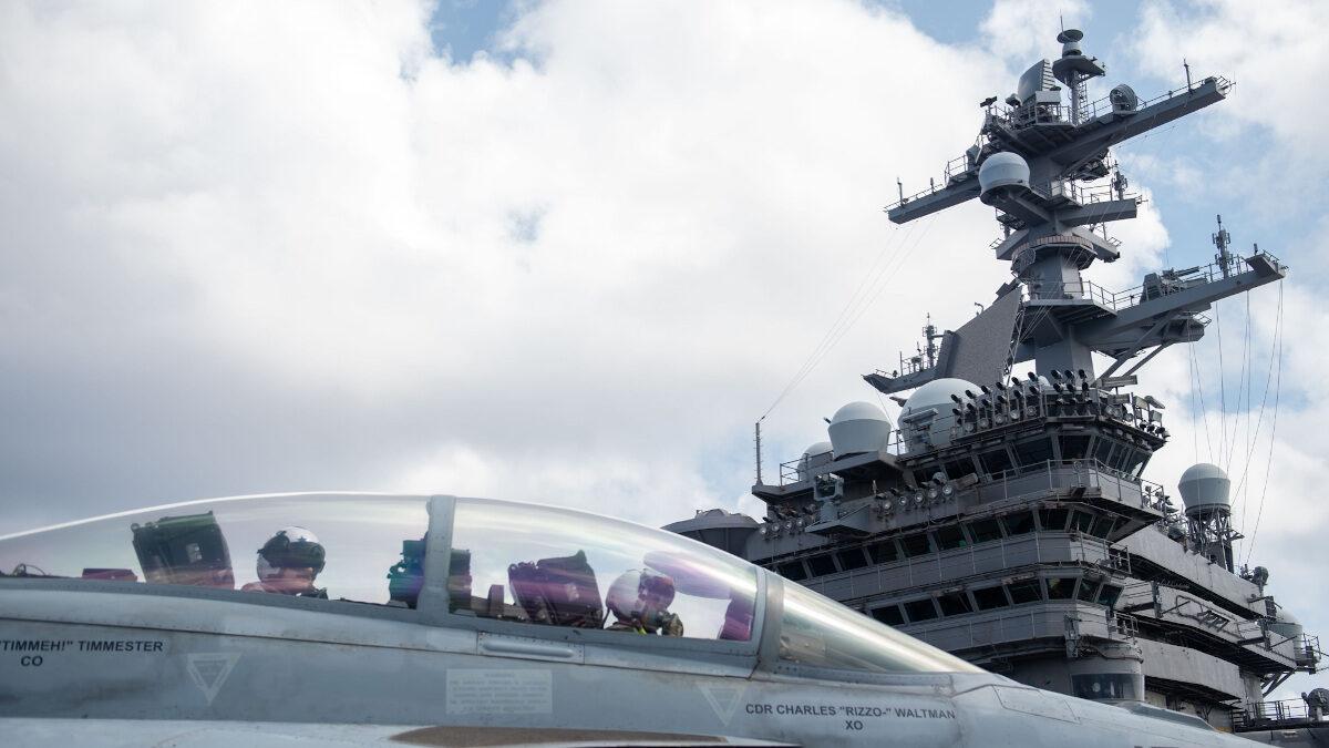 Το αμερικανικό αεροπλανοφόρο USS Carl Vinson
