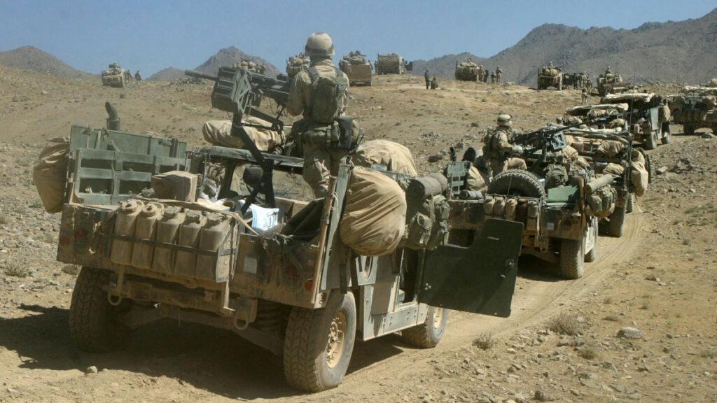 Τάγμα Πεζοναυτών του Πολεμικού Ναυτικού των ΗΠΑ στα βουνά του Αφγανιστάν