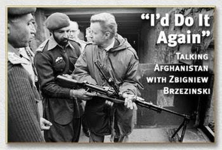 Δημοσίευμα δεκαετίας 90 με τη δήλωση του Μπρεζίνσκι να λέει «θα το έκανα ξανά» για το Αφγανιστάν