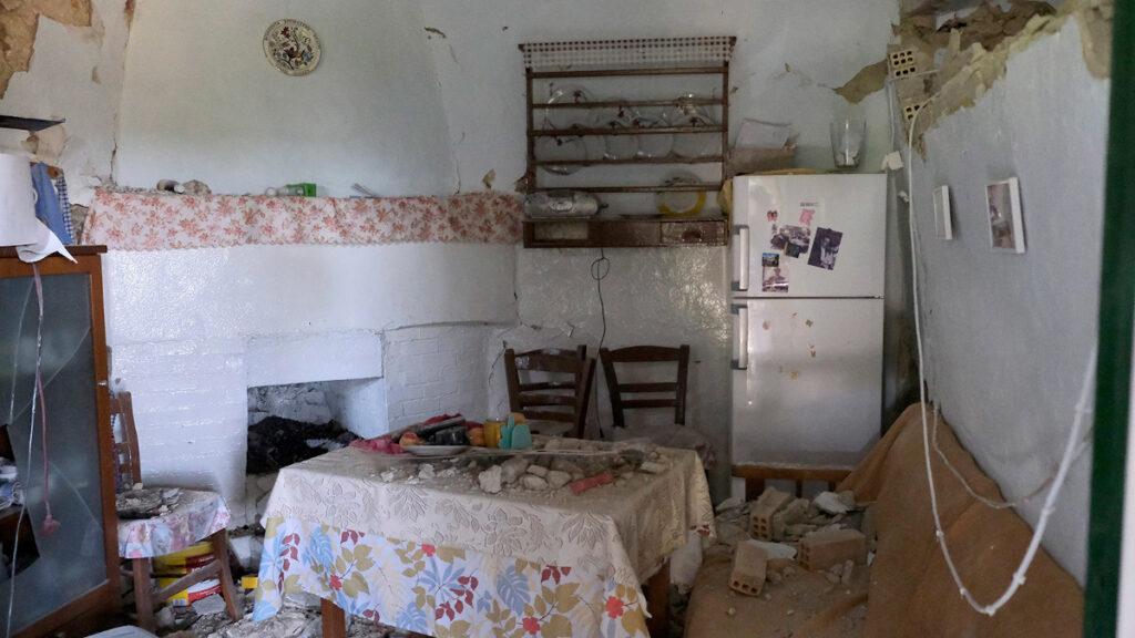 Ισχυρός σεισμός στο Αρκαλοχώρι Ηρακλείου Κρήτης