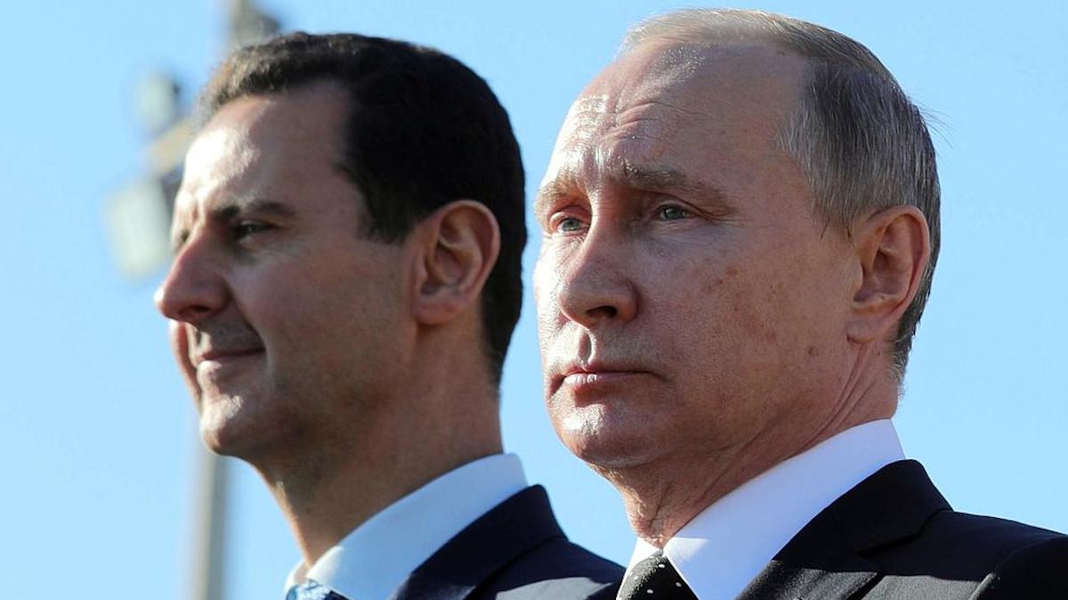 Συνάντηση Προέδρου Ρωσικής Ομοσπονδίας Β. Πούτην με τον Πρόεδρος της Συρίας Μπ. Άσαντ