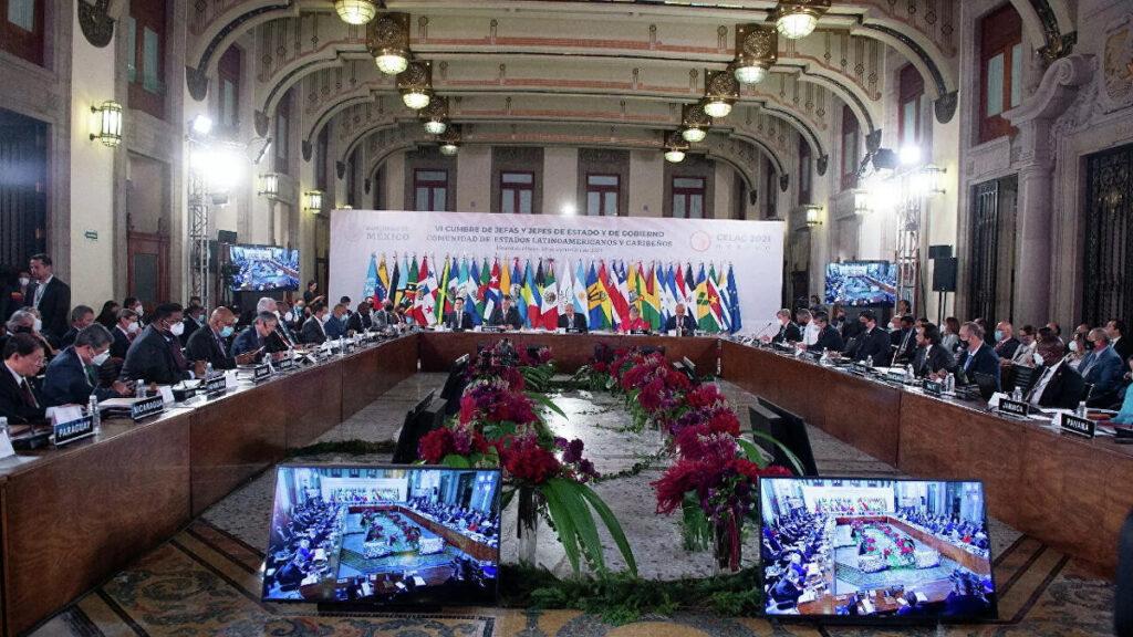 6η Σύνοδος της Ένωσης Κρατών Λατινικής Αμερικής και Καραϊβικής (CELAC) πραγματοποιήθηκε στο Μεξικό στις 18/9/2021