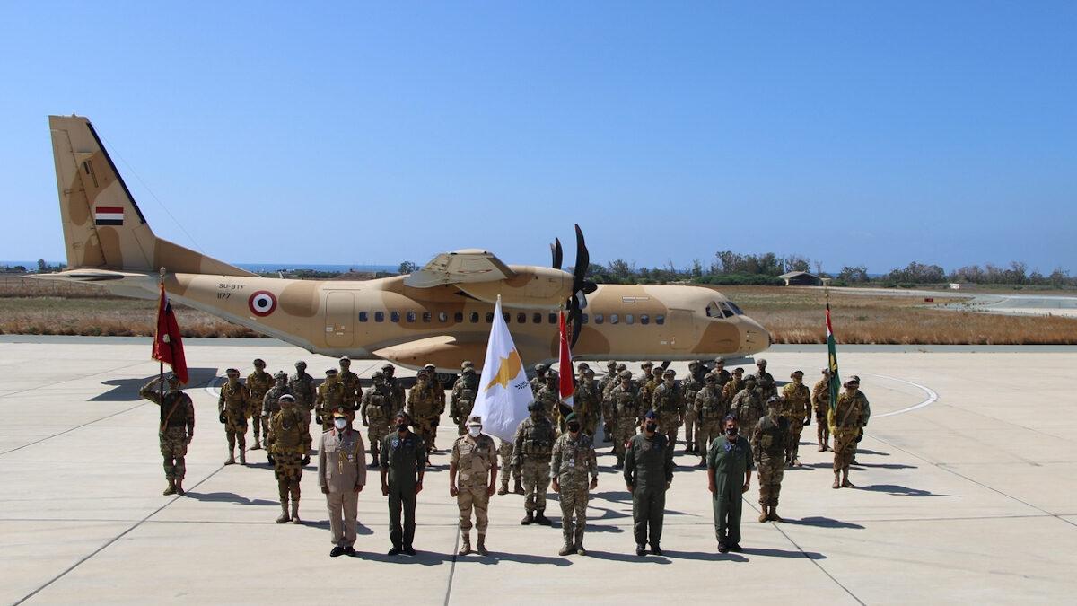 Από συνεκπαίδευση Κυπριακών και Αιγυπτιακών δυνάμεων