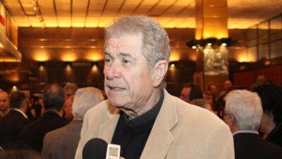 Ο ηθοποιός Δημήτρης Τζουμάκης