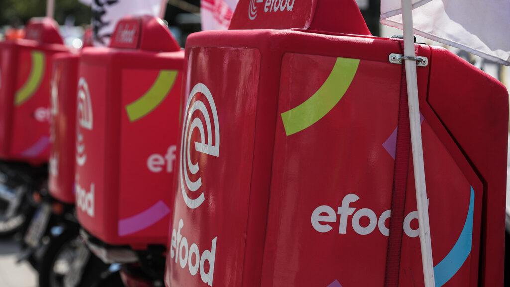 Κινητοποίηση διανομέων της «e-food» στην Αθήνα 22/9/21