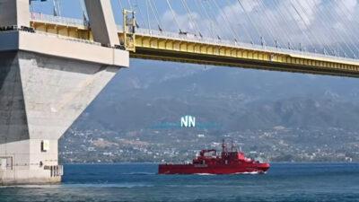 Επιχείρηση του Λιμενικού στον Πατραϊκό για γυναίκα η οποία απειλούσε να πέσει από τη Γέφυρα Ρίου - Αντιρρίου - 20/9/2021