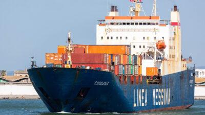 Φορτηγό πλοίο HONZI με σημαία Παναμά
