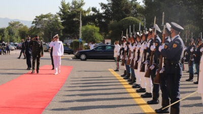 Από την επίσημη επίσκεψη του προέδρου της στρατιωτικής επιτροπής του ΝΑΤΟ στο ΓΕΕΘΑ