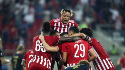 Europa League: Ολυμπιακός-Αντβέρπ 2-1