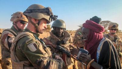 Γαλλικά στρατεύματα στην Αφρική