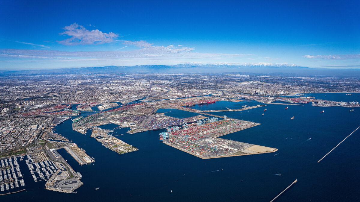 Το λιμάνι του Λος Άντζελες