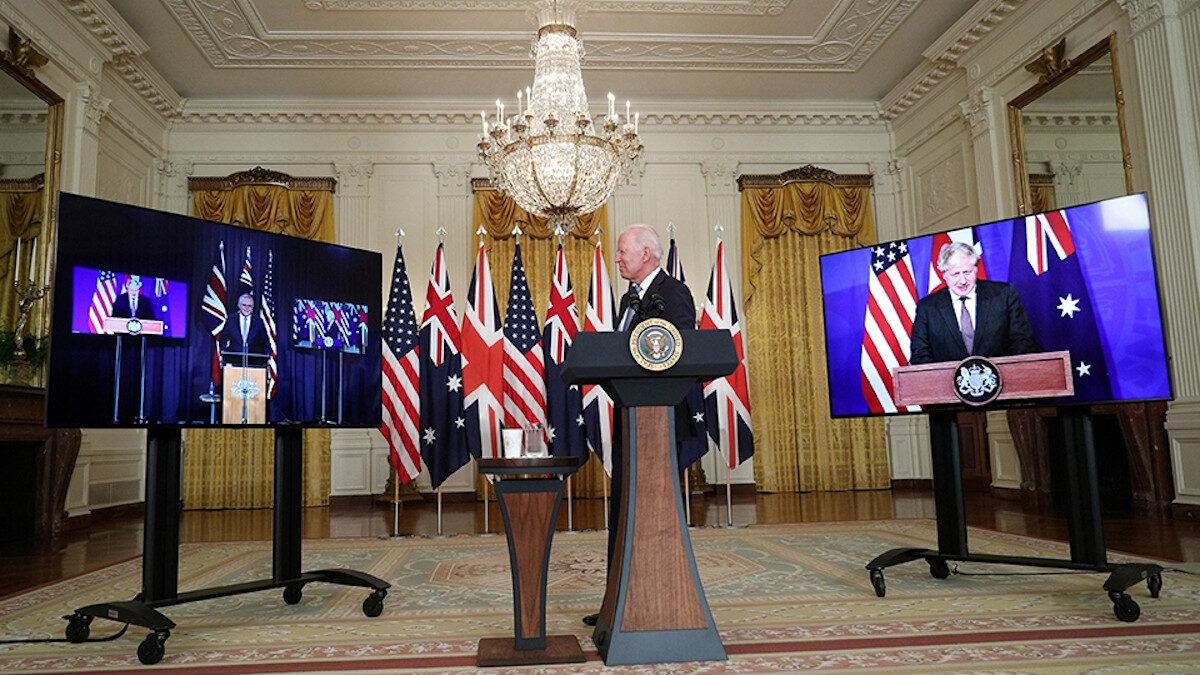 Συμφωνία AUKUS / ΗΠΑ - Βρετανία - Αυστραλία εναντίον της Κίνας