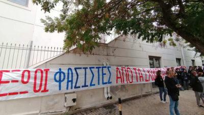 Εξόρμηση έξω από ΕΠΑΛ στη Σταυρούπολη Θεσσαλονίκης