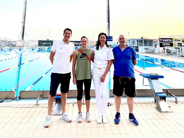 Κολυμβητές και προπονητές από το Λιμενικό Σώμα - Ελληνική Ακτοφυλακή στο Πρωτάθλημα των ΕΔ και ΣΑ