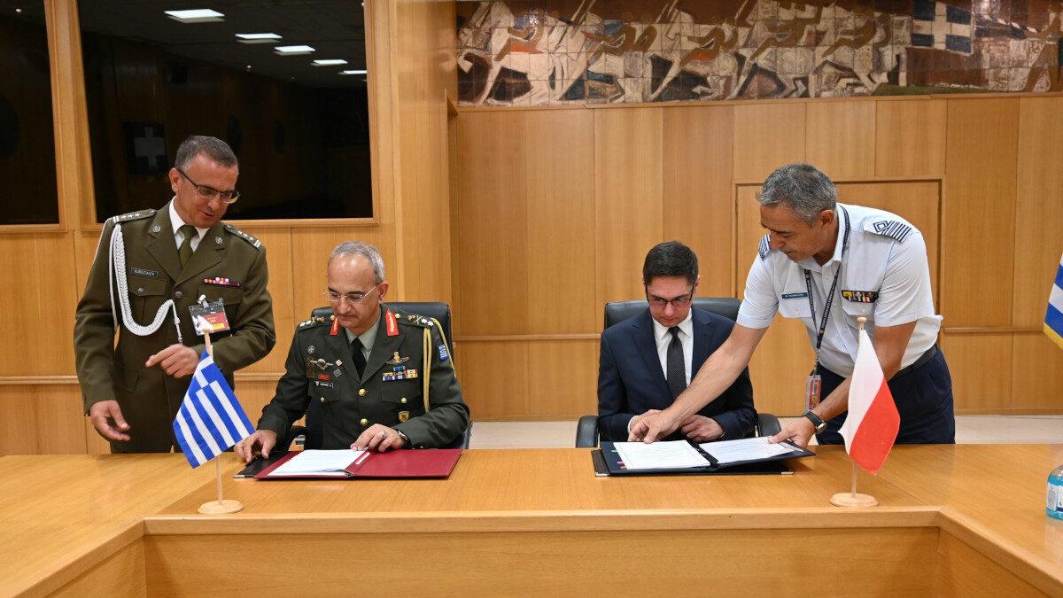 Ελλάδα - Πολωνία: Υπέγραψαν Συμφωνία Αμοιβαίας Προστασίας Διαβαθμισμένων Πληροφοριών