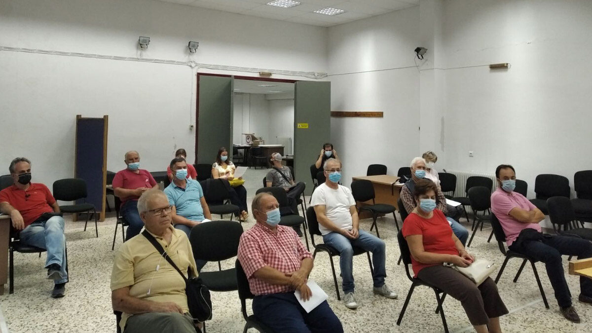 Από τη σύσκεψη της Επιτροπής Ειρήνης Λάρισας