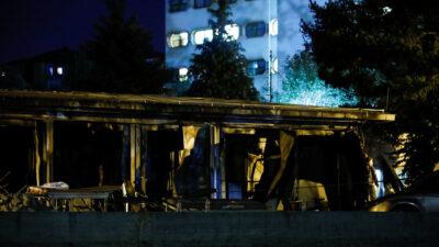 Πυρκαγιά σε νοσοκομείο στο Τέτοβο στη Βόρεια Μακεδονία