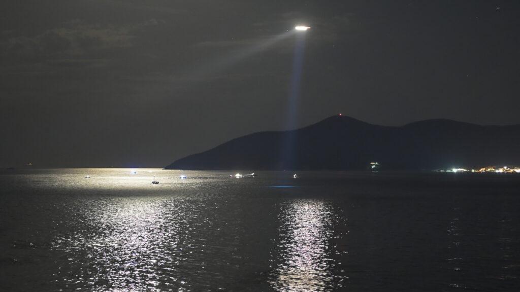 Πτώση μονοκινητήριου αεροσκάφους με δύο νεκρούς το βράδυ της Δευτέρας στη ανοιχτά της Σάμου, στην θαλάσσια περιοχή Ποτοκάκι, Δευτέρα 13 Σεπτεμβρίου 2021. Το αεροσκάφος τύπου Cessna 172 πραγματοποιούσε ιδιωτική πτήση από το Ισραήλ στη Σάμο.