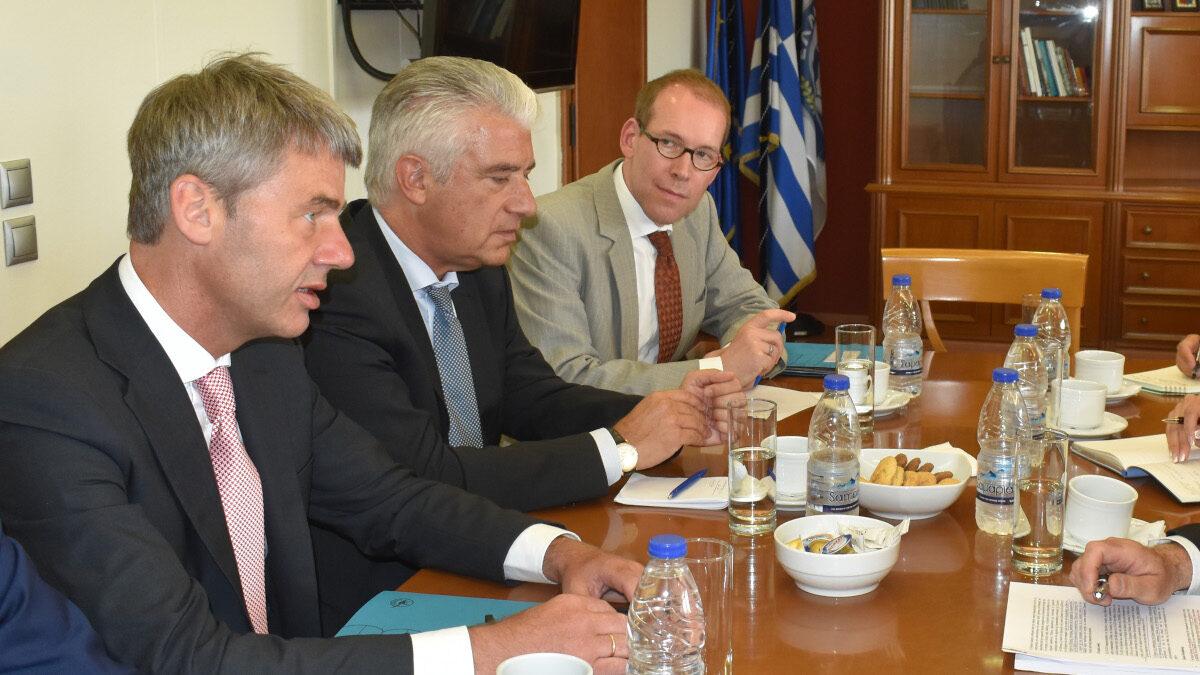 Συνάντηση με τον κ. Γιαν Χέκερ, Σύμβουλο Εξωτερικής Πολιτικής της Καγκελαρίου Μέρκελ στο Υπουργείο Εξωτερικών της Ελλάδας 5/8/2019