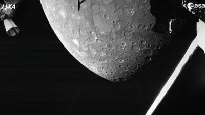 Η φωτογραφία του Ερμή από την πρώτη αποστολή της Ευρώπης
