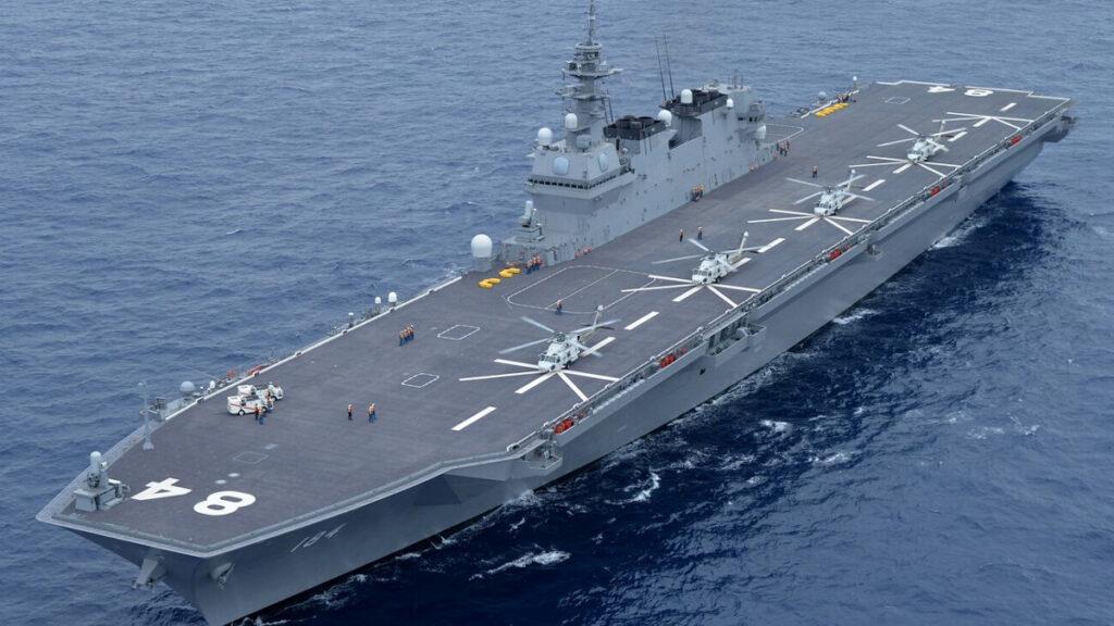 Ελικοπτεροφόρο Αμφίβιων Επιχειρήσεων (κλάσης Izumo) JS Kaga (DDH 184) του Πολεμικού Ναυτικού της Ιαπωνίας