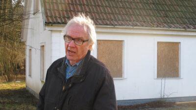 Ο σουηδός σκιτσογράφος Λαρς Βιλκς