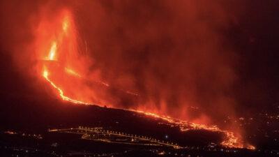 Νέα έκρηξη κρατήρα του ηφαιστείου στη Λα Πάλμα