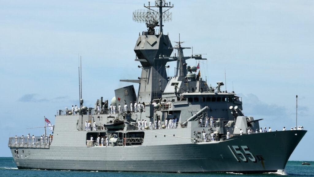 Φρεγάτα (κλάσης Anzac) HMAS Ballarat (FFH 155) του Πολεμικού ναυτικού της Αυστραλίας
