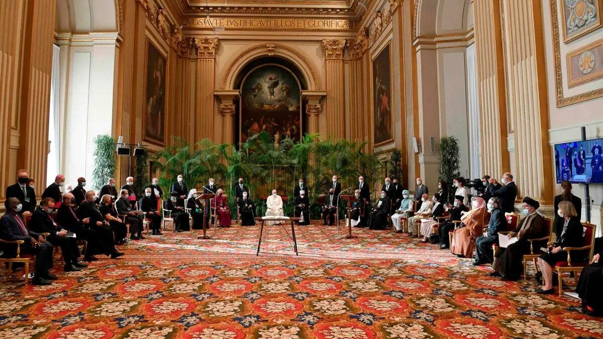 Συνάντηση θρησκευτικών ηγετών στο Βατικανό για την υπογραφής της έκκλησης «Faith and Science: Towards COP26»