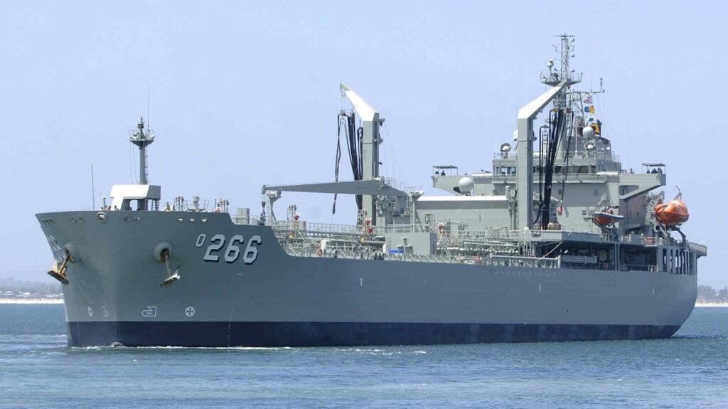 Πλοίο Γενικής Υποστήριξης - Πετρελαιοφόρο (ΠΓΥ) HMAS Sirius (O 266) του Πολεμικού Ναυτικού της Αυστραλίας