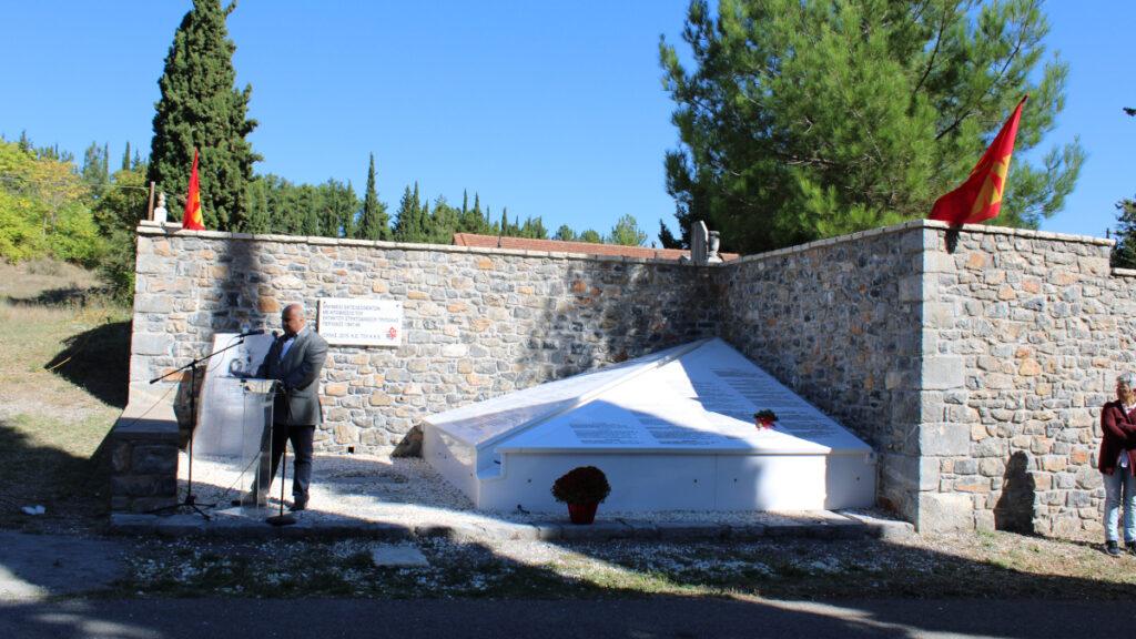Αποκατάστησε το μνημείο εκτελεσθέντων του «θανατοδικείου» της Τρίπολης
