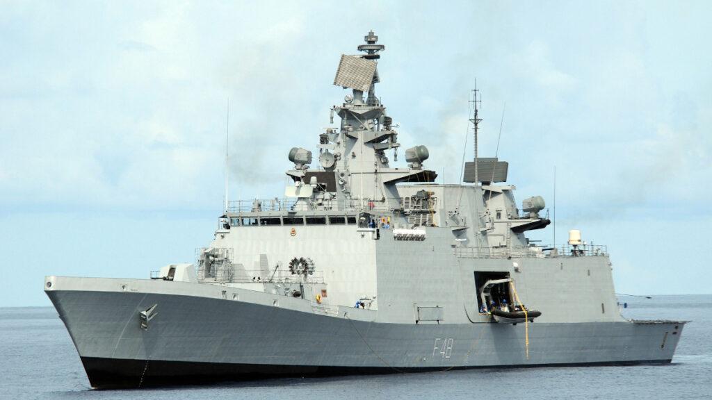 Φρεγάτα πολλαπλών ρόλων stealth INS Satpura (F48) κατηγορίας Shivalik του Πολεμικού Ναυτικού της Ινδίας