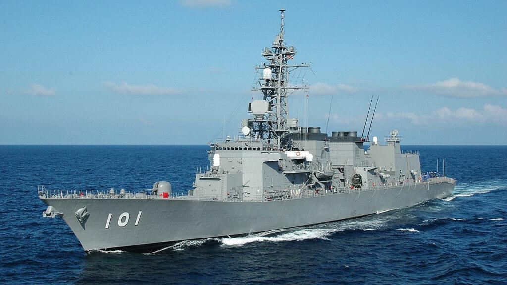 Αντιτορπιλικό (κλάσης Murasame) JS Murasame (DD 101) του Πολεμικού Ναυτικού της Ιαπωνίας
